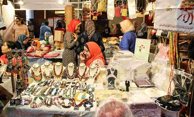 File - Hand crafts expo in Egypt