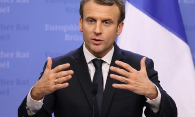 "French President Emmanuel Macron described Syrian President Bashar al-Assad as ""an enemy of the Syrian people"", but insisted: ""We have to speak to Assad and his representatives."" - AFP /  FILE"