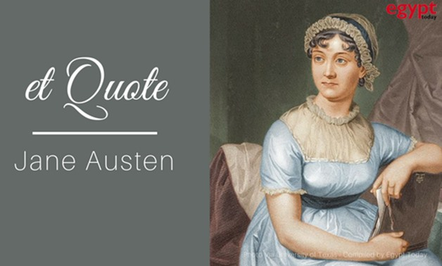 Jane Austen Photo Via CC/University of Texas – Compiled by Egypt Today