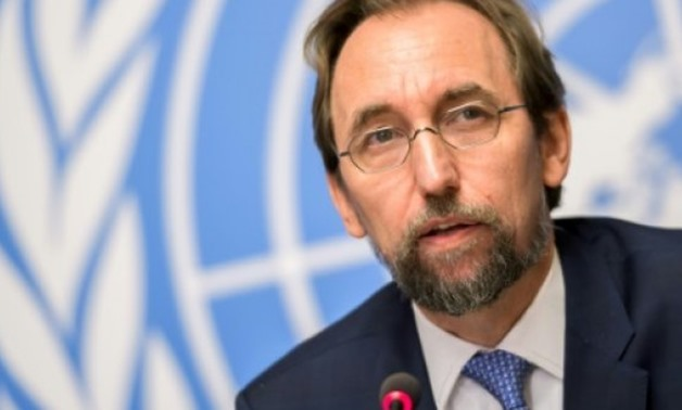 © AFP/File | United Nations (UN) High Commissioner for Human Rights Zeid Ra'ad Al Hussein