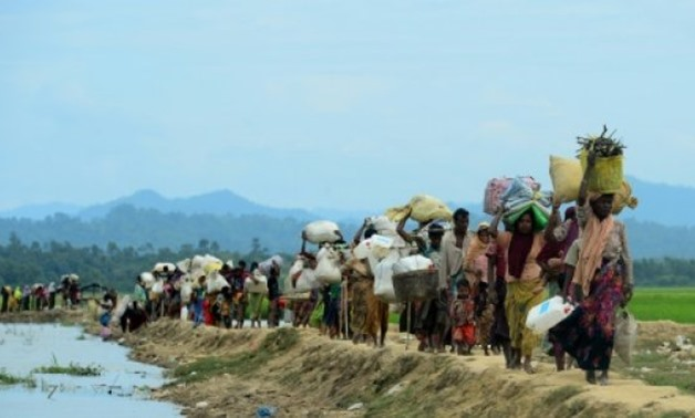 The UN, US and rights groups have accused Myanmar of carrying out a systematic ethnic cleansing campaign against the Rohingya - AFP/File