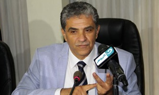 File - Environment Minister Khaled Fahmy