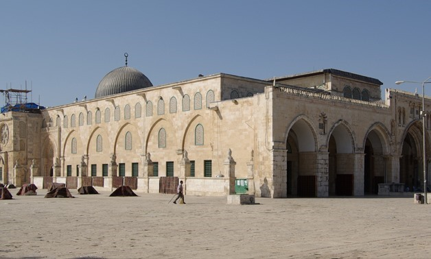 Al-Aqsa Mosque, Israel to inaugurate a new synagogue underneath Al-Aqsa Mosque, 19 December, 2017- Egypt Today