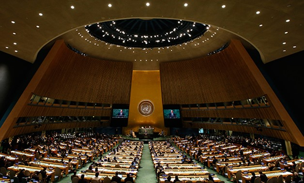 69th United Nations General Assembly at the United Nations headquarters in New York, September 24, 2014 – Reuters/Mike Segar