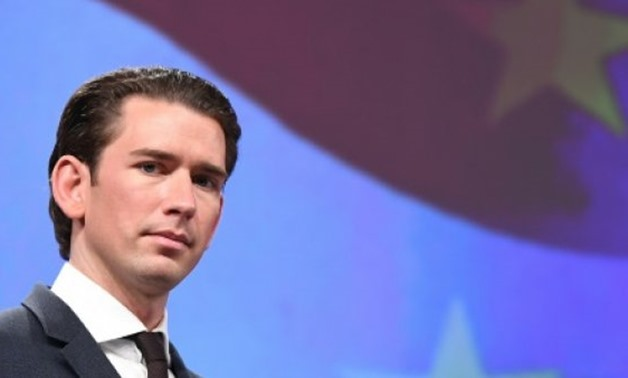 © AFP | Austrian Chancellor Sebastian Kurz formed a new coalition with the far-right Freedom Party last week