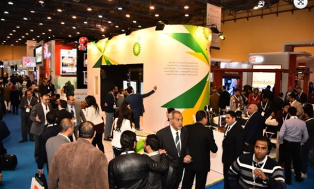 File- People visiting last year's Egypt Petroleum Show – EGYPS official website