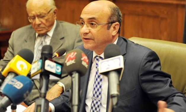 File - Minister of Legal and Parliamentary Affairs Omar Marwan