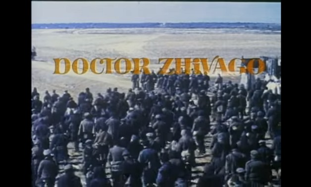 Screencap from the trailer for Doctor Zhivago, showing the title, December 22, 2017 - Cecilia Corujo/Youtube Channel""