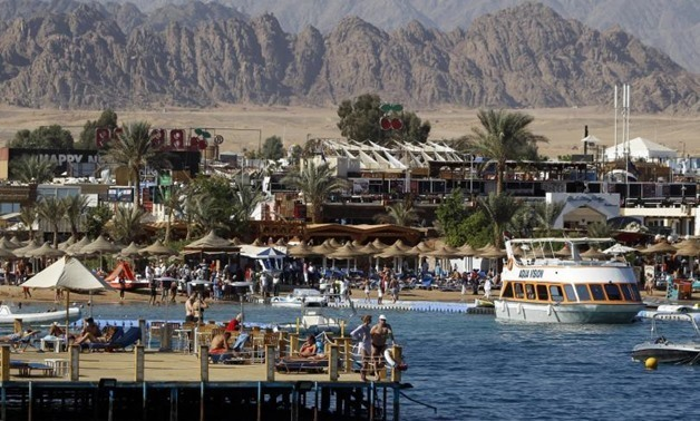 FILE - The Red Sea resort of Sharm el-Sheikh