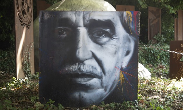 Painting portrait of Gabriel Garcia Marquez - Photo courtesy of Flickr