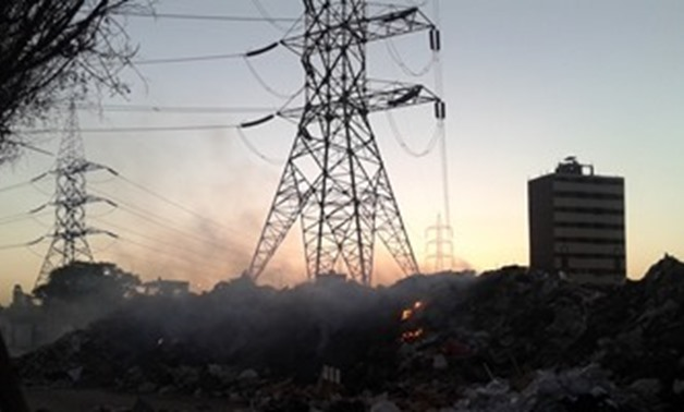 FILE – Electric cables in Egypt