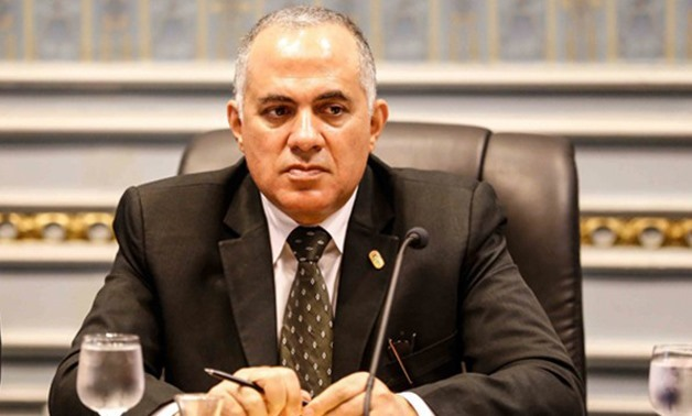 Egyptian Minister of Water Resources and Irrigation Mohamed Abdel-Ati – Press Photo