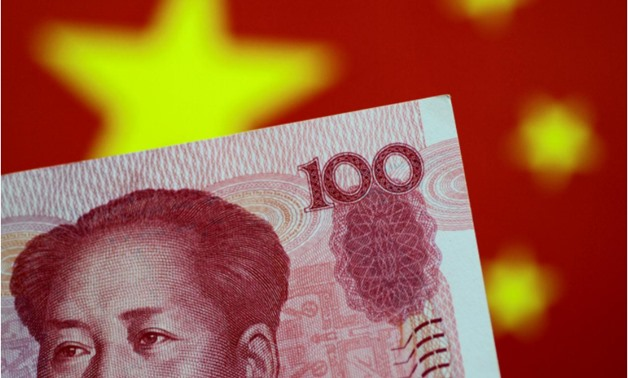 A China yuan note is seen in this illustration photo May 31, 2017 - REUTERS/Thomas White/Illustration/File Photo