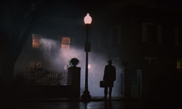 Screencap from the 1973 trailer for 'The Exorcist', December 26, 2017 - ryy79 Youtube/Channel
