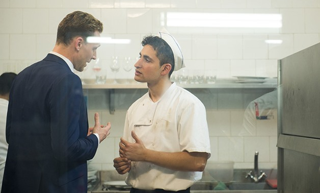Amir el-Masry and Tom Hiddleston in a scene from '' The Night Manager'' – Photo Courtesy of IMDB