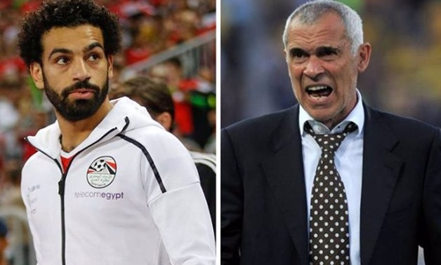 FILE – Mohamed Salah (L) and Hector Cuper (R)®