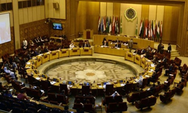 The Arab League in session in an undated picture. (Reuters)