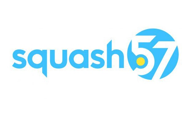Squash 57 logo - Photo courtesy of the official website of the World Squash Federation