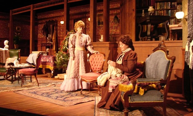"A Scene from ""A Doll's House"" Play – Pinterest"