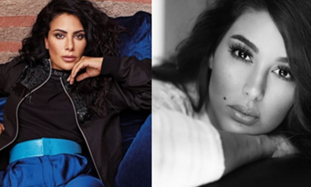Saba Mubarak and Yasmine Sabri via Instagram – Compiled by Egypt Today