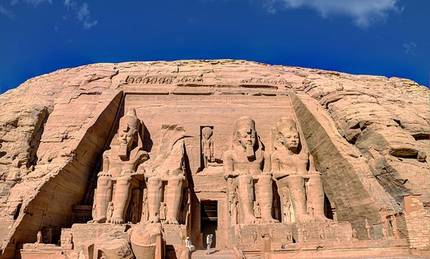 Cover photo – Temple of Abu Simbel – Wikimedia