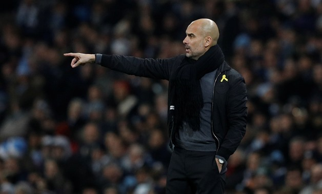 Premier League – Manchester City vs Tottenham Hotspur – Etihad Stadium, Manchester, Britain – December 16, 2017, Manchester City manager Pep Guardiola gestures – REUTERS/Phil Noble