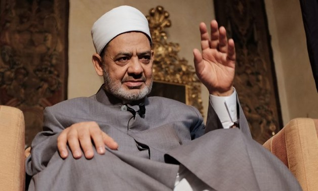 Al Azhar grand imam Ahmed el Tayyeb - FILE PHOTO