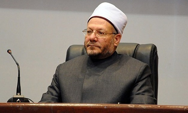 FILE – Egypt's Grand Mufti Shawky Allam