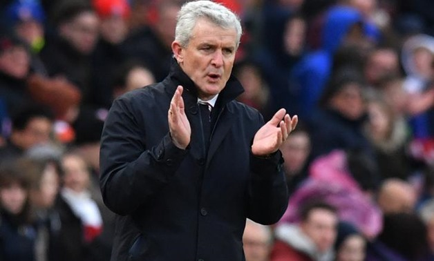 Britain Soccer Football - Stoke City v Middlesbrough - Premier League - bet365 Stadium - 4/3/17 Stoke City manager Mark Hughes - Reuters / Anthony Devlin Livepic