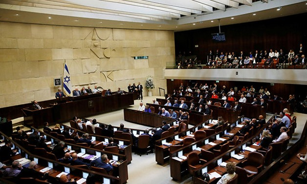 Opening of the Knesset winter session (Photo: Reuters)