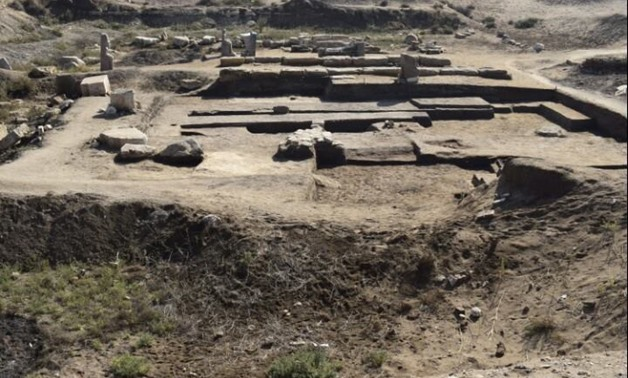 Photograph of the excavation site at Buto, January 2, 2018 - Ministry of Antiquities/Facebook