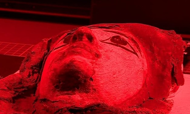 Press photo – Mummy scanning