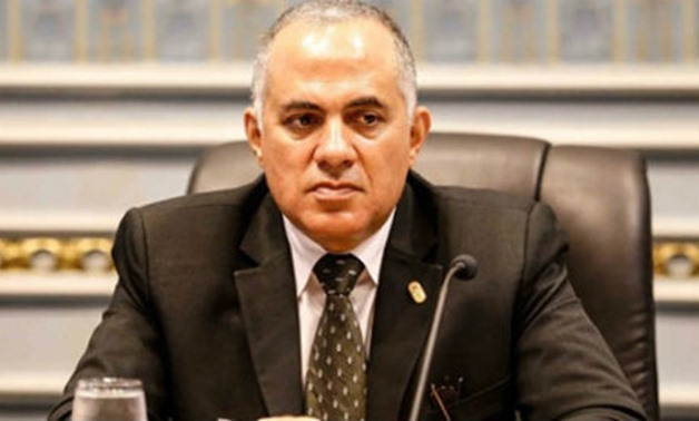 FILE – Irrigation and Water Resources Minister Mohamed Abdel Aati,