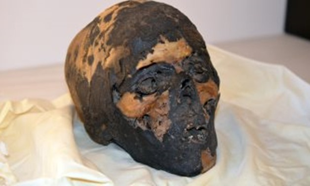The Skull – Photo Courtesy of Repatriation Department/Ministry of Antiquities official Facebook page