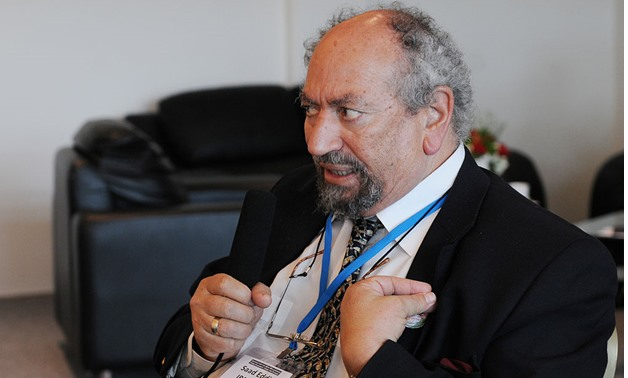 Saad Eddin Ibrahim, recipient of the 2008 Danish Pundik Prize, participates in a plenary session of the Agenda for the New Millennium summit, Abu Dhabi, UAE, January 20, 2009 – Wikimedia/Agenda for the New Millennium