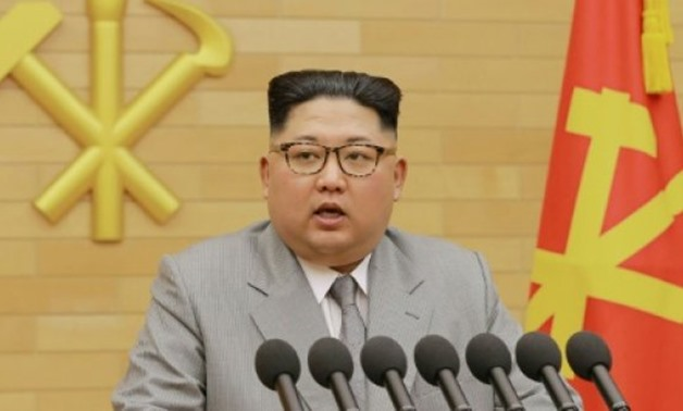 KCNA VIA KNS/AFP/File | North Korean leader Kim Jong-Un said in a new year speech that his country wished success for the Olympics and would consider sending a delegation