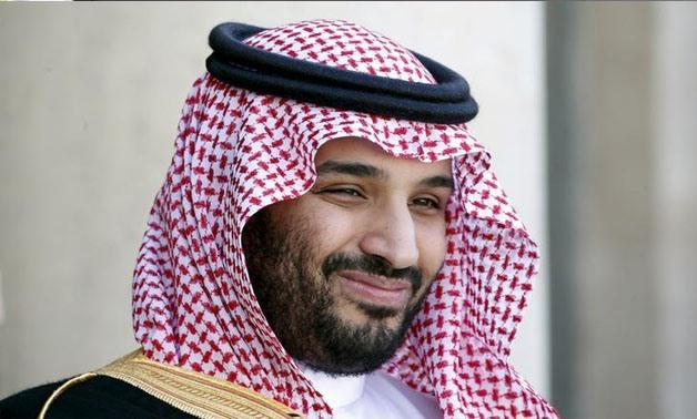 Saudi Arabia's Deputy Crown Prince Mohammed bin Salman reacts upon his arrival at the Elysee Palace in Paris, France, June 24, 2015 - REUTERS/Charles Platiau/File Photo