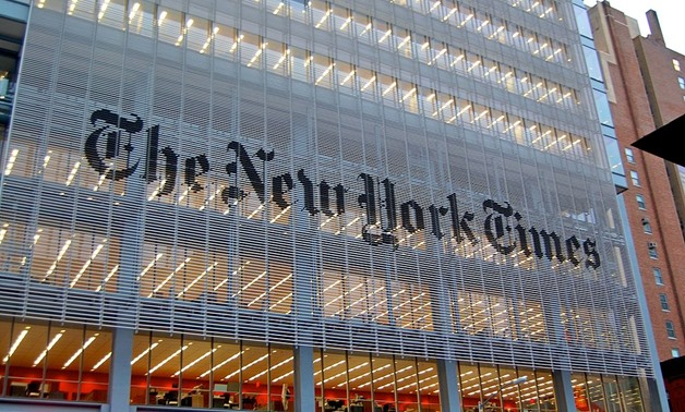 FILE – The building of New York Times - Wikimedia Commons