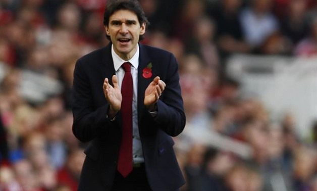 Premier League - The Riverside Stadium - 29/10/16 Middlesbrough manager Aitor Karanka Action Images via Reuters / Jason Cairnduff