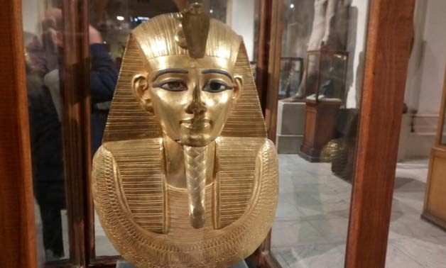 King Tutankhamun at the Grand Egyptian Museum - Photo by Ahmed Mansour