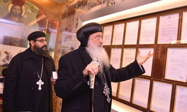 Inauguration of museum and shrine of martyrs at Saint George Church in Tanta - Photo by Mostafa Adel/Egypt Today