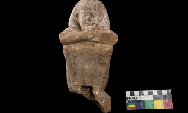 One of the unearthed artifacts – Photo courtesy of the Ministry of Antiquities