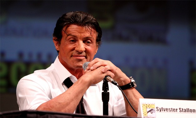Sylvester Stallone on the Expendables panel, 2010, California - Creative Commons via Flicker/Gage Skidmore