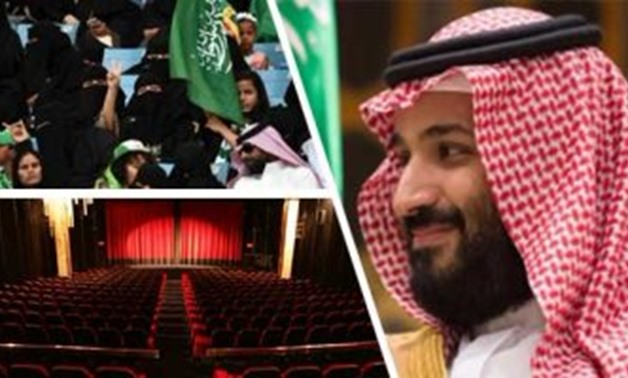 Crown Prince Mohammed bin Salman, Saudi Women and Saudi theatre – Photo complied by Egypt Today
