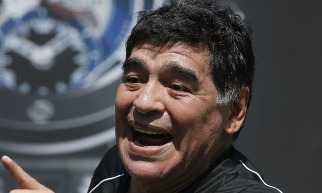 Argentinean football legend Diego Maradona – Press image courtesy FILE