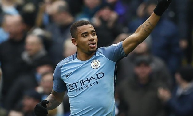 Etihad Stadium - 5/2/17 Manchester City's Gabriel Jesus celebrates scoring their first goal Action Images via Reuters / Jason Cairnduff Livepic