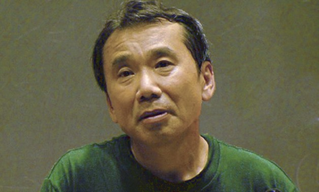 Photograph of Haruki Murakami from Wikimedia Commons, edited, January 12, 2018 –wakarimasita/Wikimedia Commons