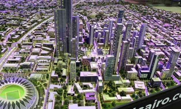 New Administrative Capital model - File Photo