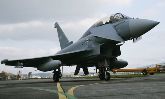 Qatar today signed an agreement to buy 24 Typhoon fighter jets from Britain, a second major defence deal signed by Doha during its lengthening diplomatic dispute with its neighbours. (Representative photo: Reuters)