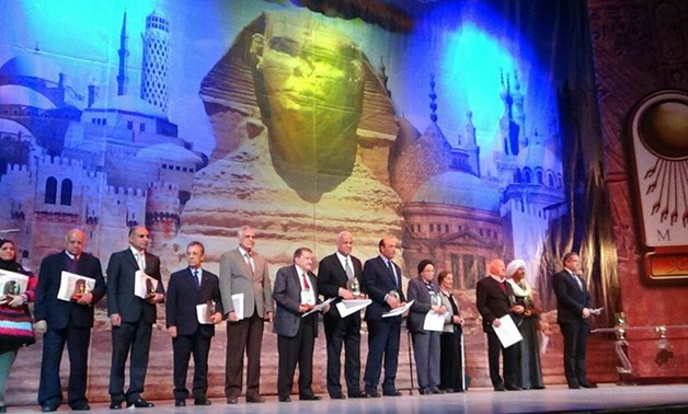 Honors of the Ministry of Antiquities. Photo courtesy of the        Ministry of Antiquities official page on Facebook